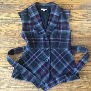 Pendleton women's belted jacket/vest small